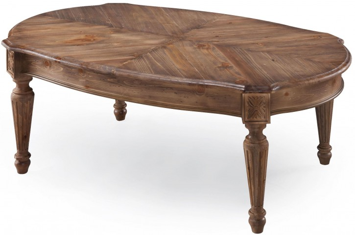 Lloyd Weathered Oat Rectangular Cocktail Table
