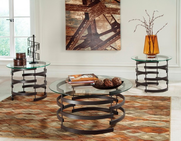 Kaymine 3-in-1 Occasional Table Set