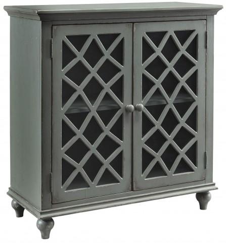 Mirimyn Gray Door Accent Cabinet