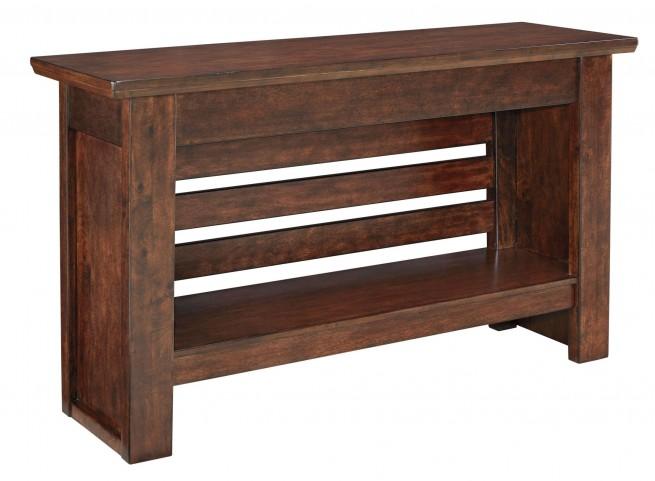 Harpan Reddish Brown Sofa Table