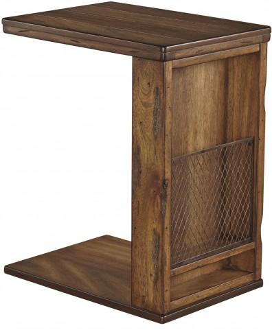 Tamonie Brown Chair Side End Table