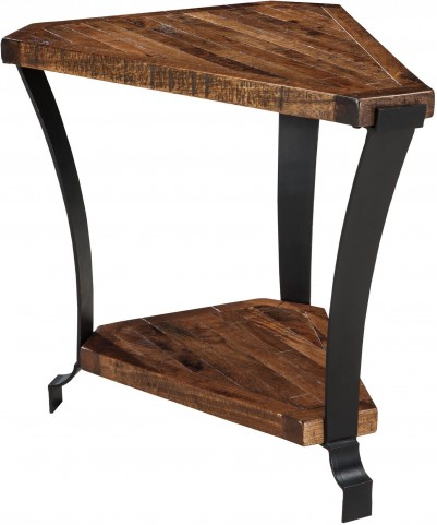 Taddenfeld Medium Brown Chair Side End Table