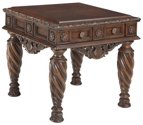 Ashley Furniture Delmar De: North Shore End Table From Ashley (T963-2)