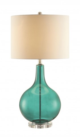 901554 Attractive Green Table Lamp