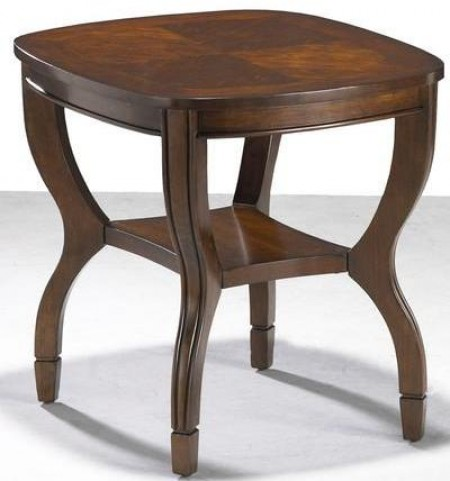 Fancy Cherry End Table