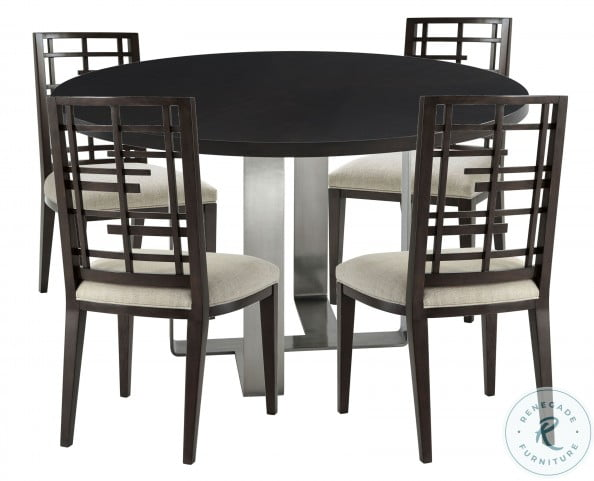 Ta Studio No 3 Ayman Ossian Round Dining Room Set From Theodore Alexander Coleman Furniture