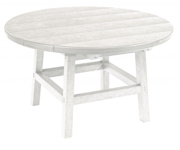 """Generations White 32"""" Round Leg Cocktail Table"""