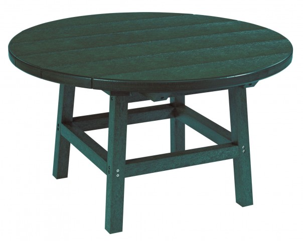 """Generations Green 32"""" Round Leg Cocktail Table"""
