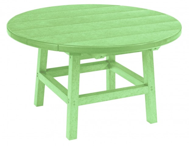 """Generations Lime Green 32"""" Round Leg Cocktail Table"""