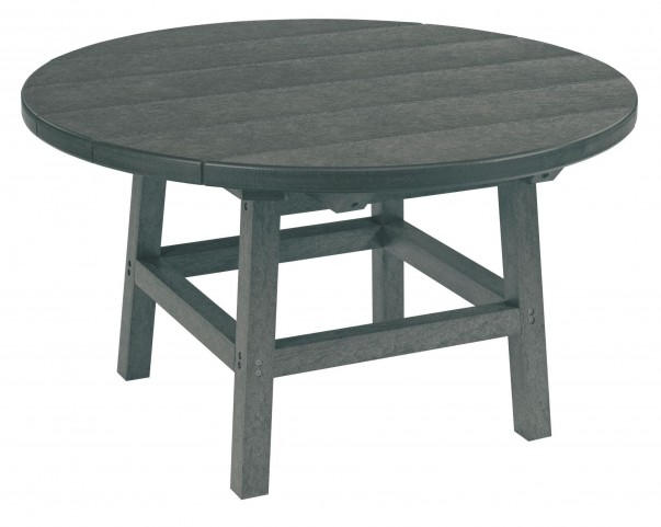 "Generations Slate Gray 32"" Round Leg Cocktail Table"