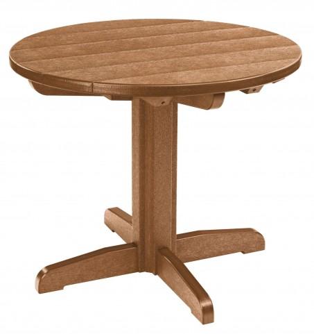 "Generations Cedar 32"" Round Pedestal Dining Table"
