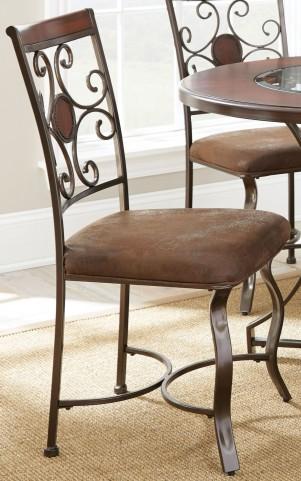 Toledo Gunmetal Side Chair Set of 2