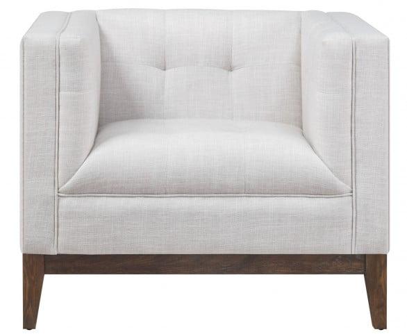 Gavin Beige Linen Chair