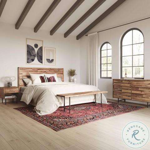 Bushwick Brown Wooden Dresser
