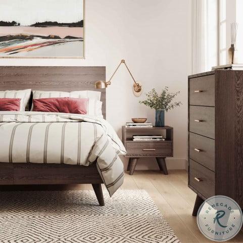 Loft Wooden Queen Platform Bed