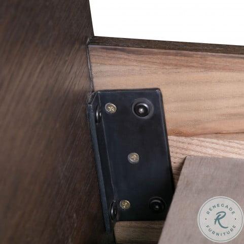 Loft Wooden King Platform Bed