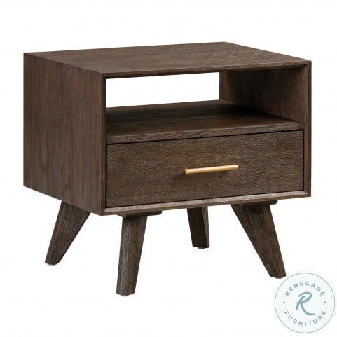 Loft Wooden Nightstand