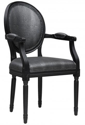 Philip Croc Arm Chair