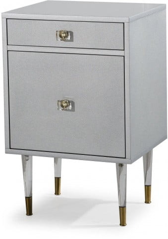 Charm Gray Nightstand
