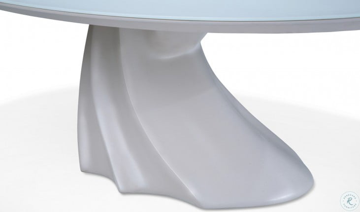 Trance Cosmo Oval Cocktail Table