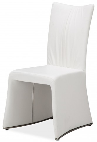 Trance Matrix Cream Upholstered Side Chair