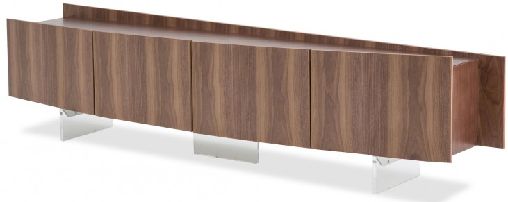 Trance Parallel Brown TV Console