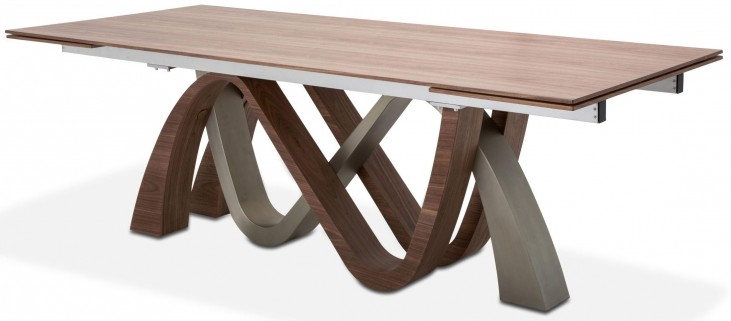 Trance Brown Rapture Rectangular Dining Table