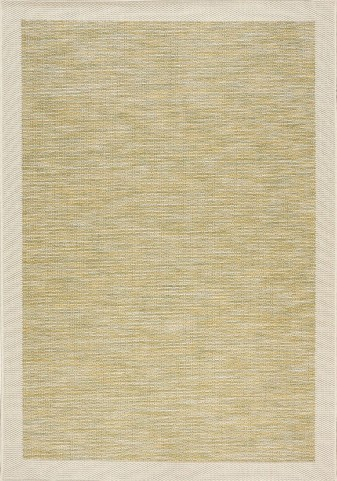 Trellis Green/Beige Border Flatweave Medium Rug