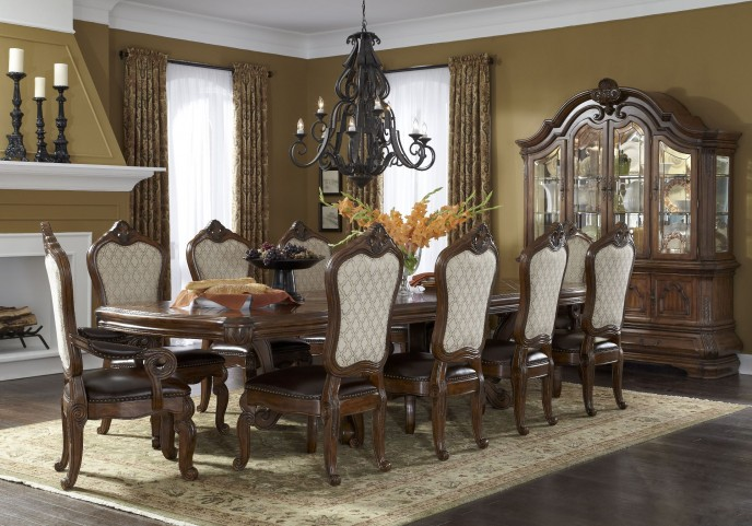 Tuscano Melange Rectangular Dining Room Set