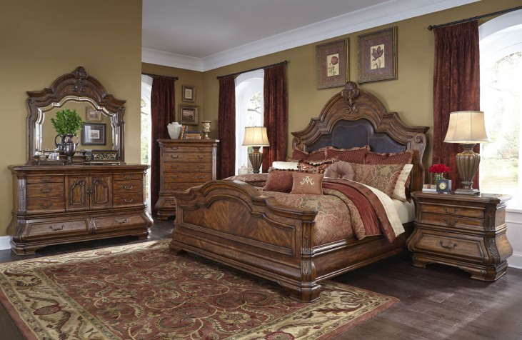 Tuscano Melange Mansion Bedroom Set