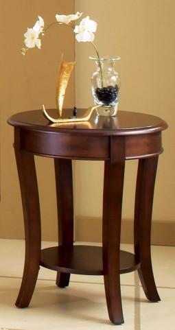 Troy Medium Brown Cherry End Table
