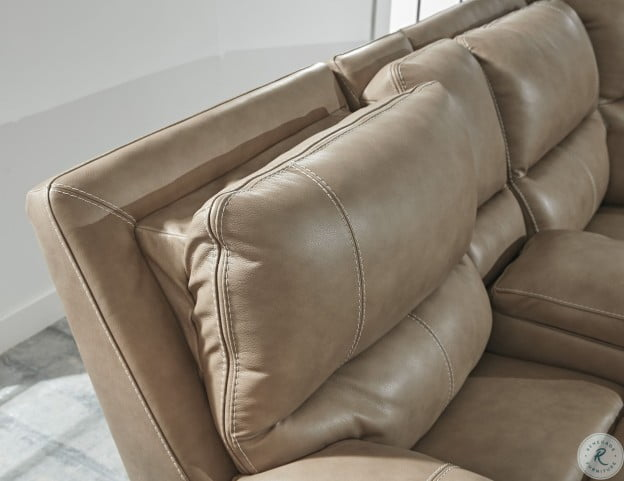 Ricmen Putty Power Reclining Living Room Set