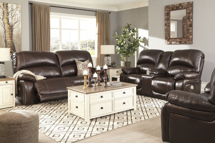 Incredible Hallstrung Chocolate 2 Seat Power Reclining Sofa Onthecornerstone Fun Painted Chair Ideas Images Onthecornerstoneorg