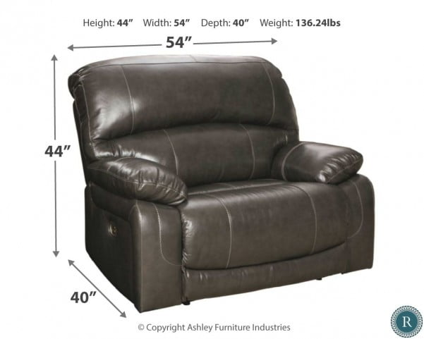 Sensational Hallstrung Gray Power Reclining Laf Sectional Cjindustries Chair Design For Home Cjindustriesco