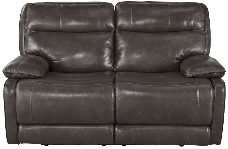 Palladum Metal Reclining Loveseat