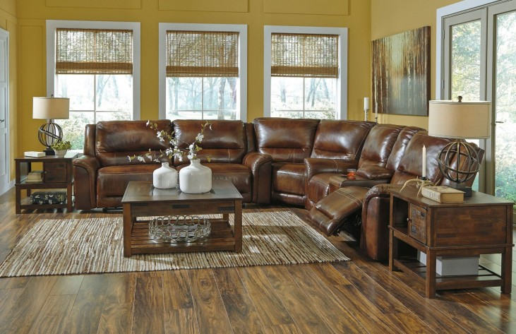 Jayron Harness Reclining Sectional