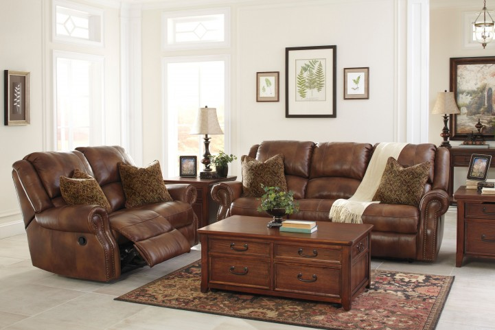 Walworth Auburn Power Reclining Living Room Set