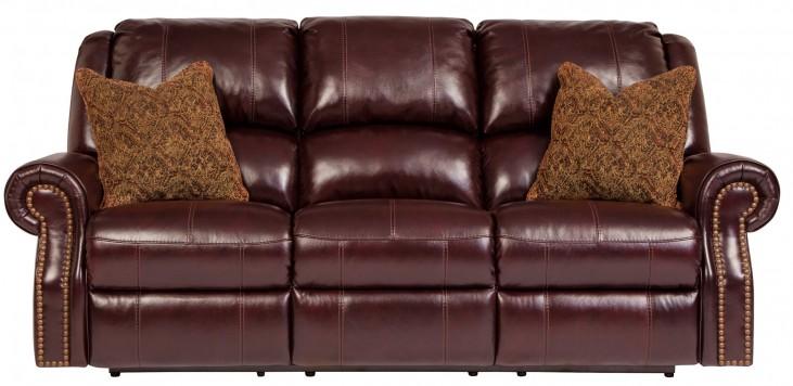 Walworth Blackcherry Reclining Sofa