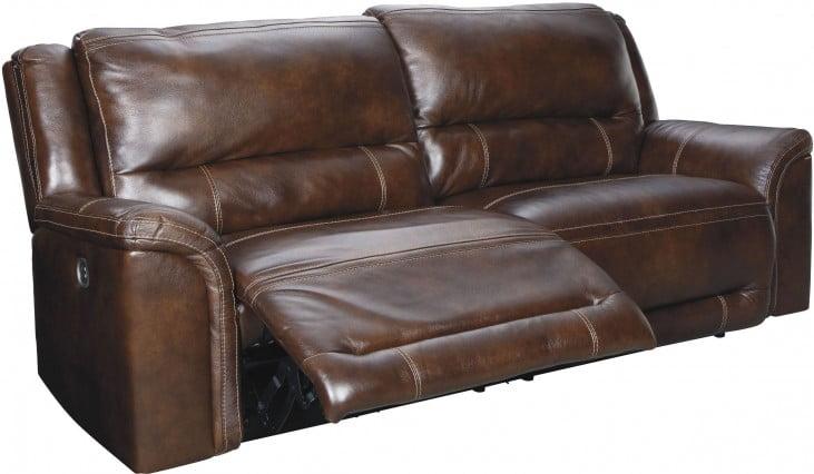 Marvelous Catanzaro Mahogany 2 Seat Power Reclining Sofa With Adjustable Headrest Short Links Chair Design For Home Short Linksinfo