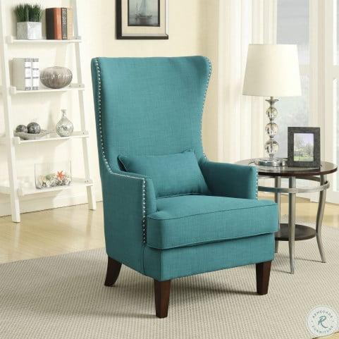 Stupendous Kegan Heirloom Teal Accent Chair Lamtechconsult Wood Chair Design Ideas Lamtechconsultcom