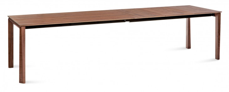 Universe Walnut 122 inch Extendable Rectangular Table