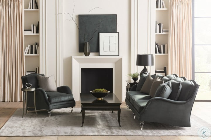 Caracole Upholstery Fancy Footwork Living Room Set