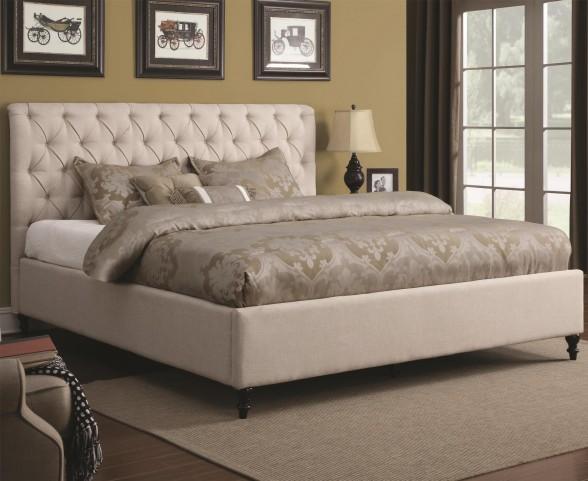 Farrah King Panel Bed