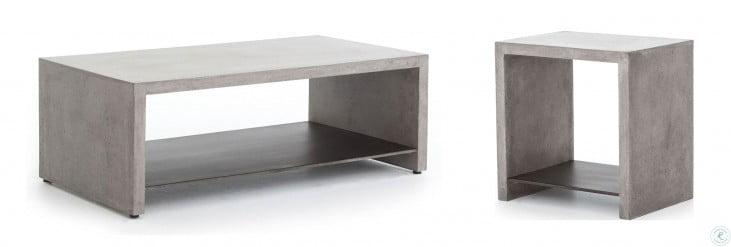 Everett Dark Grey Hugo End Table From Fourhands Coleman Furniture