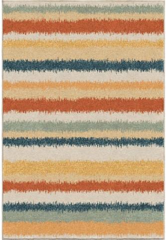 Orian Rugs Bright Color Stripes Stafford Multi Area Small Rug