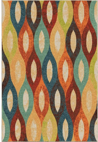 Orian Rugs Bright Color Ovals Britwick Multi Area Large Rug