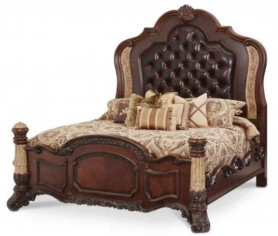 Victoria Palace Cal. King Panel Bed
