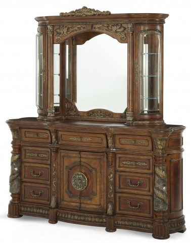 Villa Valencia Dresser with Mirror