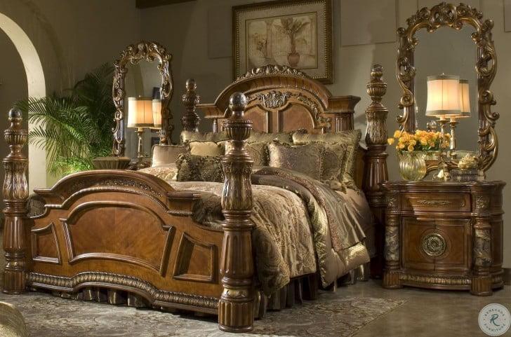 Villa Valencia Low Profile Bedroom Set