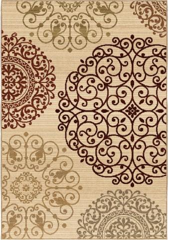 Orian Rugs Unique Designs Medallions Eton Ivory Area Medium Rug